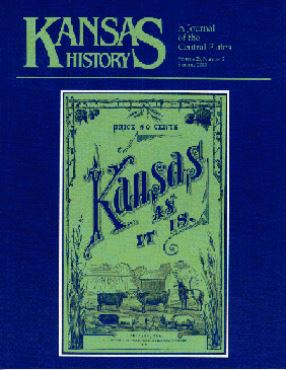 Kansas History - Vol. 26, No. 2,SUMMER 2003
