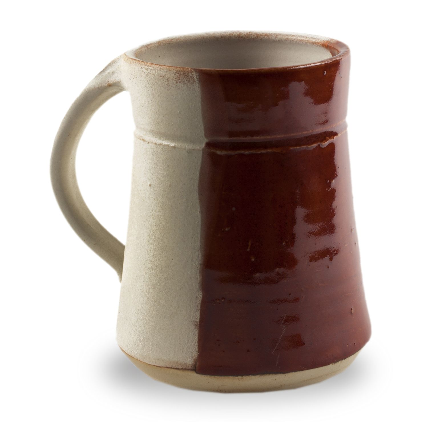 Plain Mug - Half and Half Colors