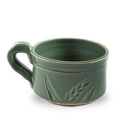 Wheat Soup Mug Dark Green