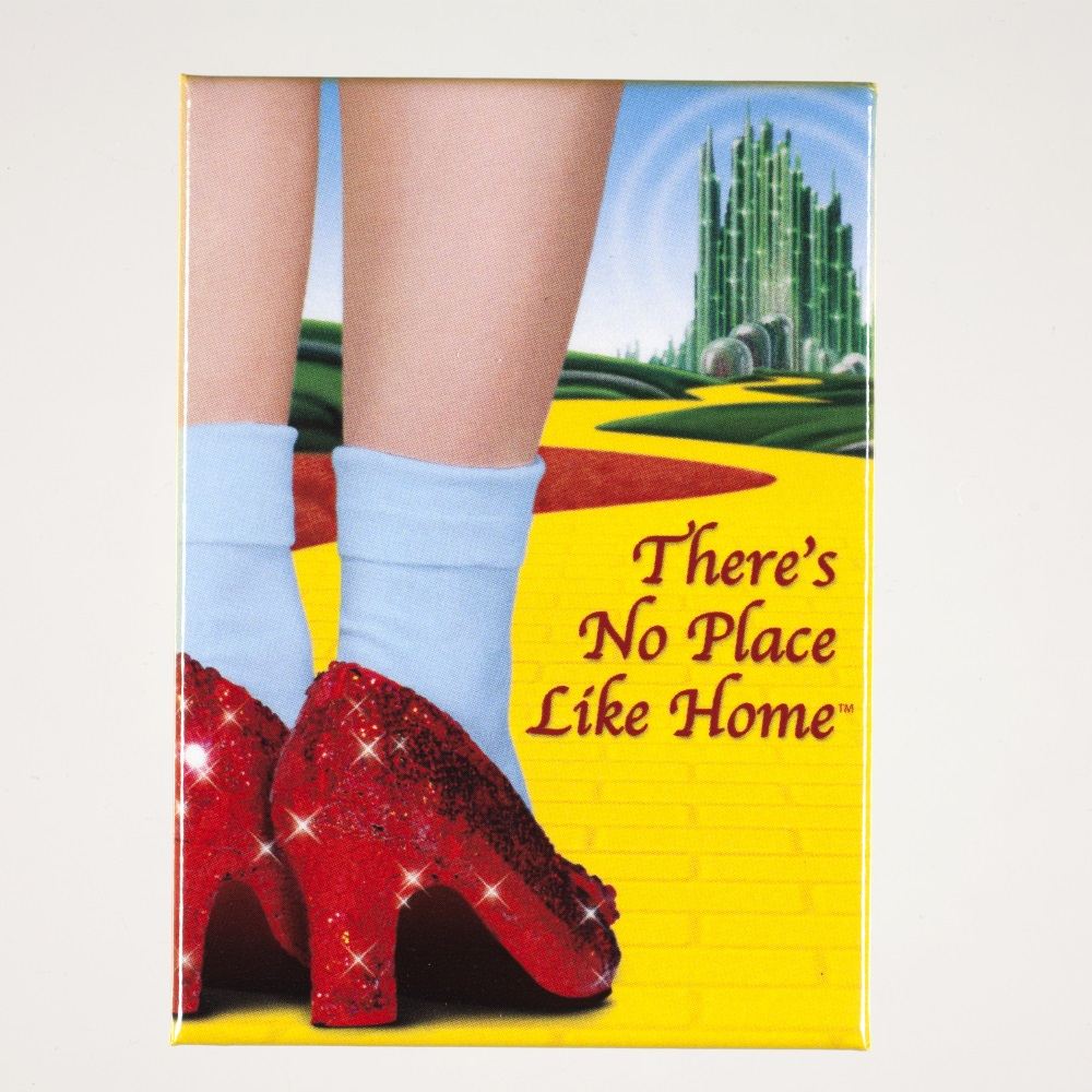 Ruby Slippers There's No Place Like Home Magnet,BOY21162OZ