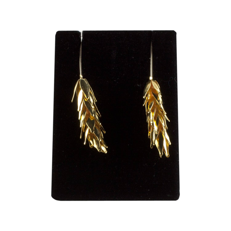 Wheat Stalk Earrings