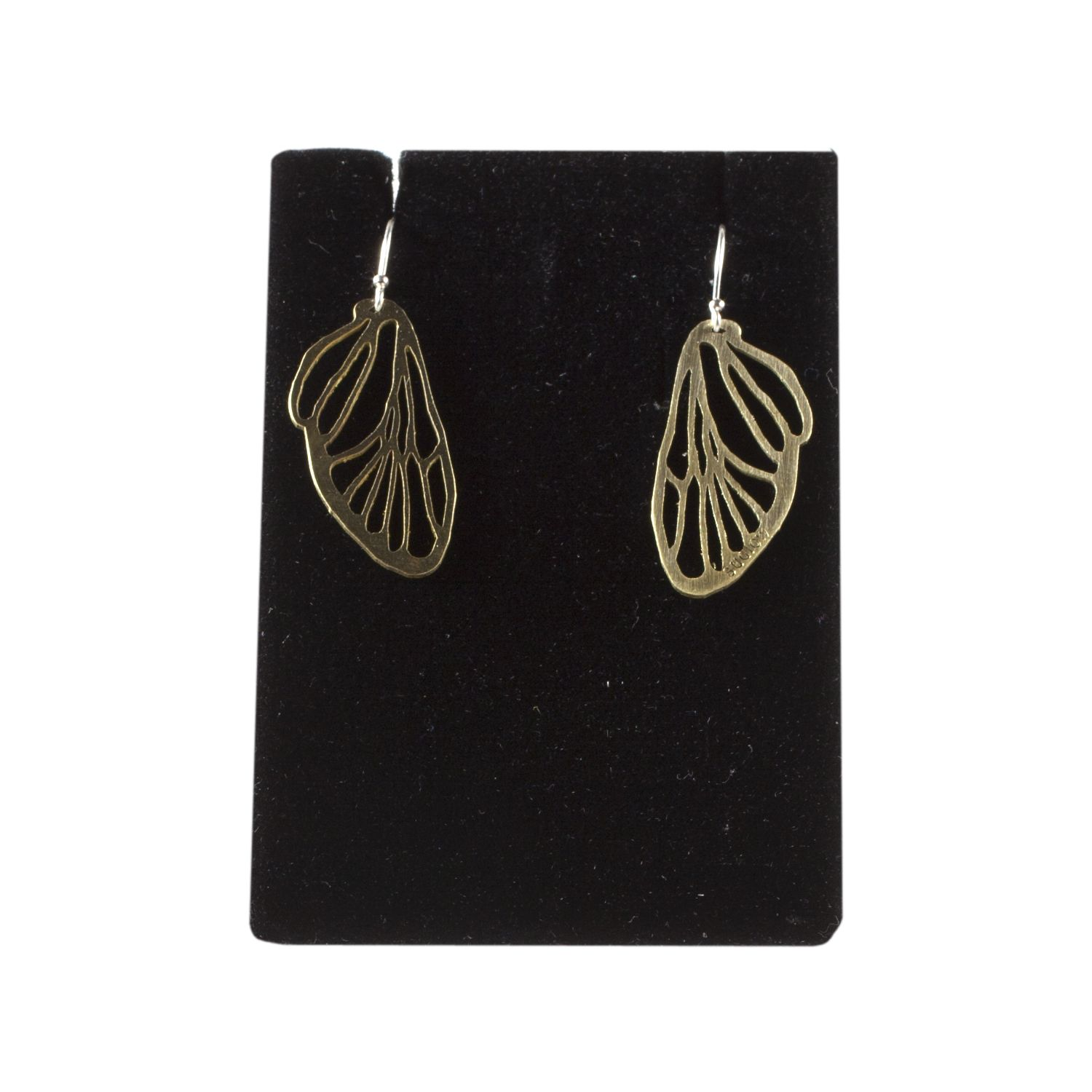 Small Cicada Line Earrings