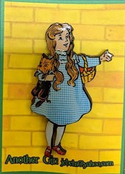 Dorothy and Toto Pin