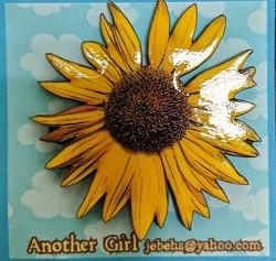 Sunflower Pin 2
