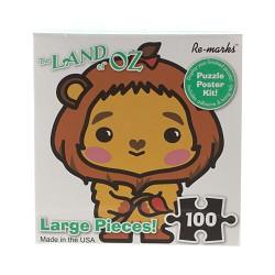 Cowardly Lion Cube 100 Piece Puzzle