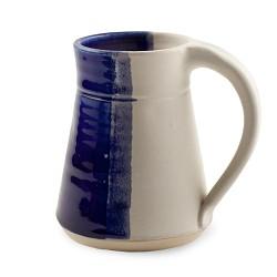 Plain Mug - Half and Half Colors Blue 10 oz