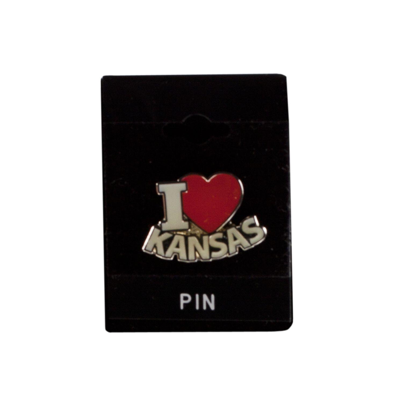 I Heart Kansas Pin,2253KS