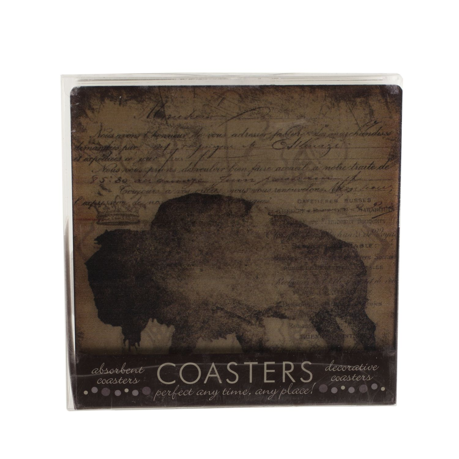 Buffalo Coasters Set of 4,FSE18