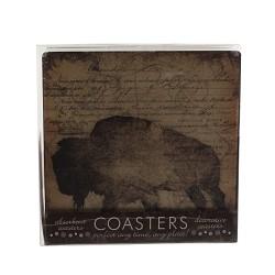 Buffalo Coasters Set of 4