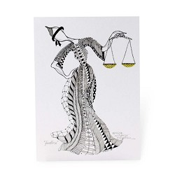 Justice Print: Unmatted