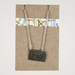 KS Home Necklace Double Loop Unpolished