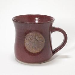Kansas Long Petal Sunflower Mug Red