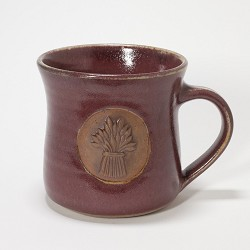 Kansas Wheat Bundle Mug Red