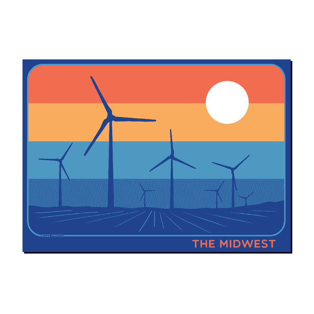 The Midwest Sticker,THE MIDWEST STICKER