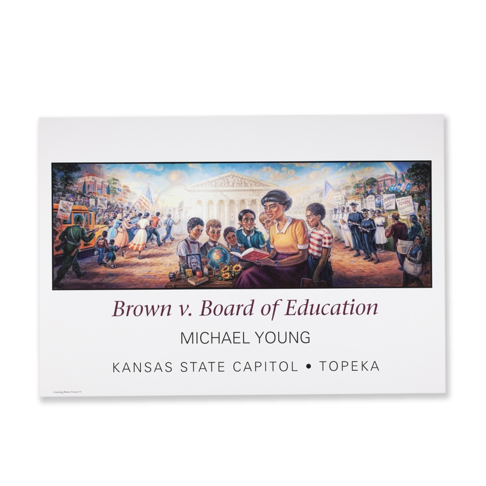 Brown V. Board of Education Mural Poster