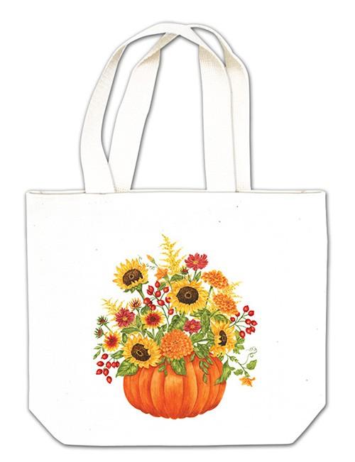 Pumpkin Bouquet Gift Tote,18-452