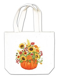 Pumpkin Bouquet Gift Tote