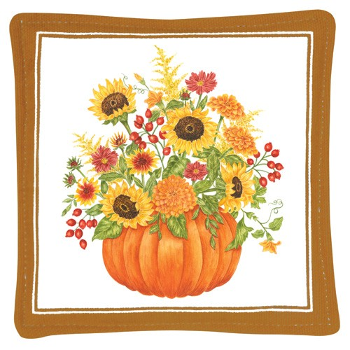 Pumpkin Bouquet Mug Mat,S11-452