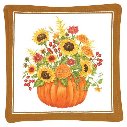 Pumpkin Bouquet Mug Mat,S11-452