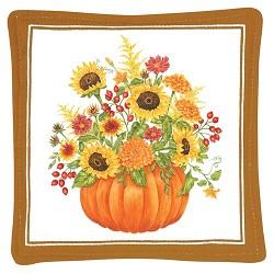 Pumpkin Bouquet Mug Mat