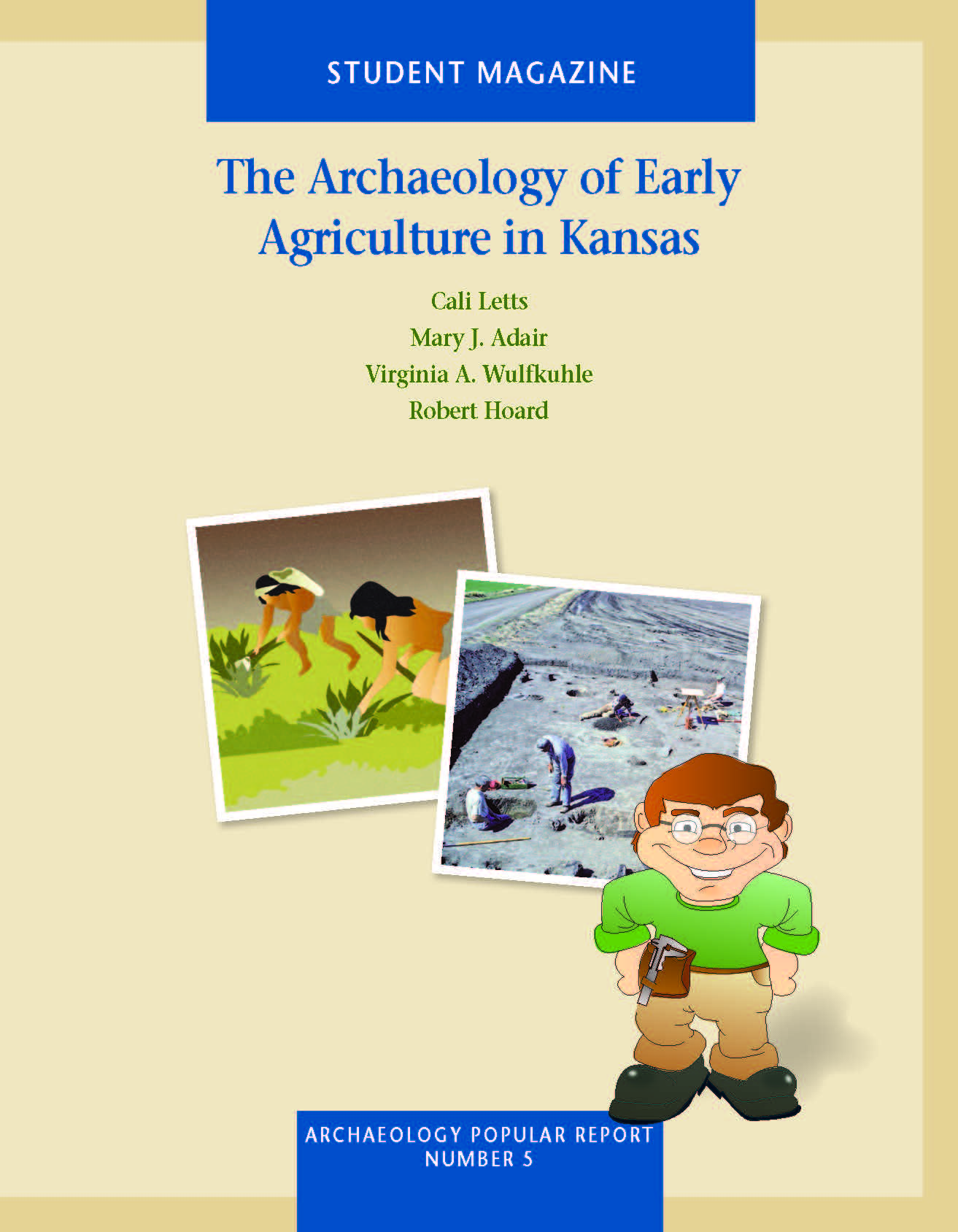 Project Archaeology: Early Agriculture in KS- Magazine