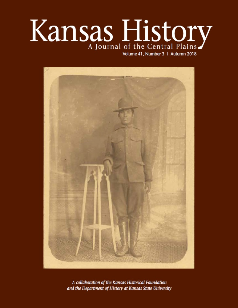 Kansas History - Vol. 41, No. 3,AUTUMN 2018