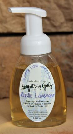 Rustic Lavender Liquid Soap