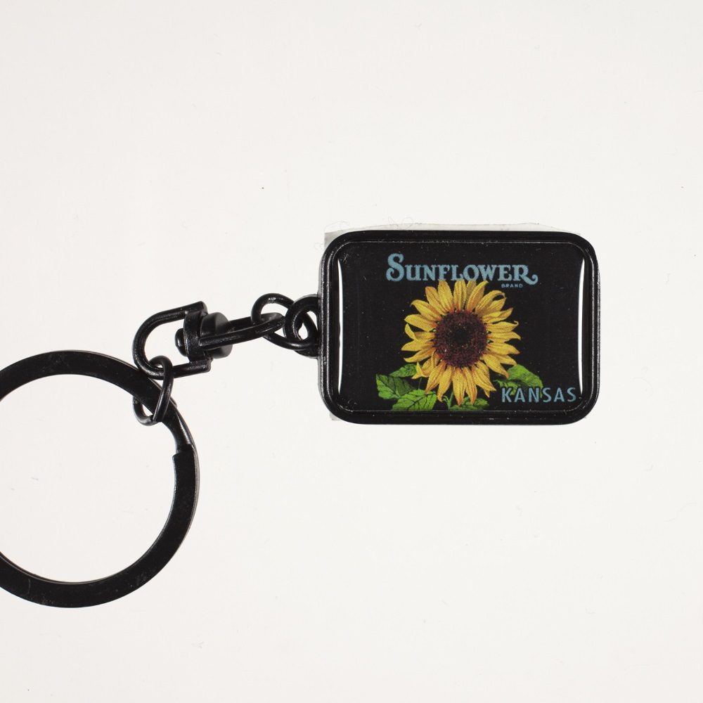 Sunflower Metal Keychain,55264 KEYCHAIN