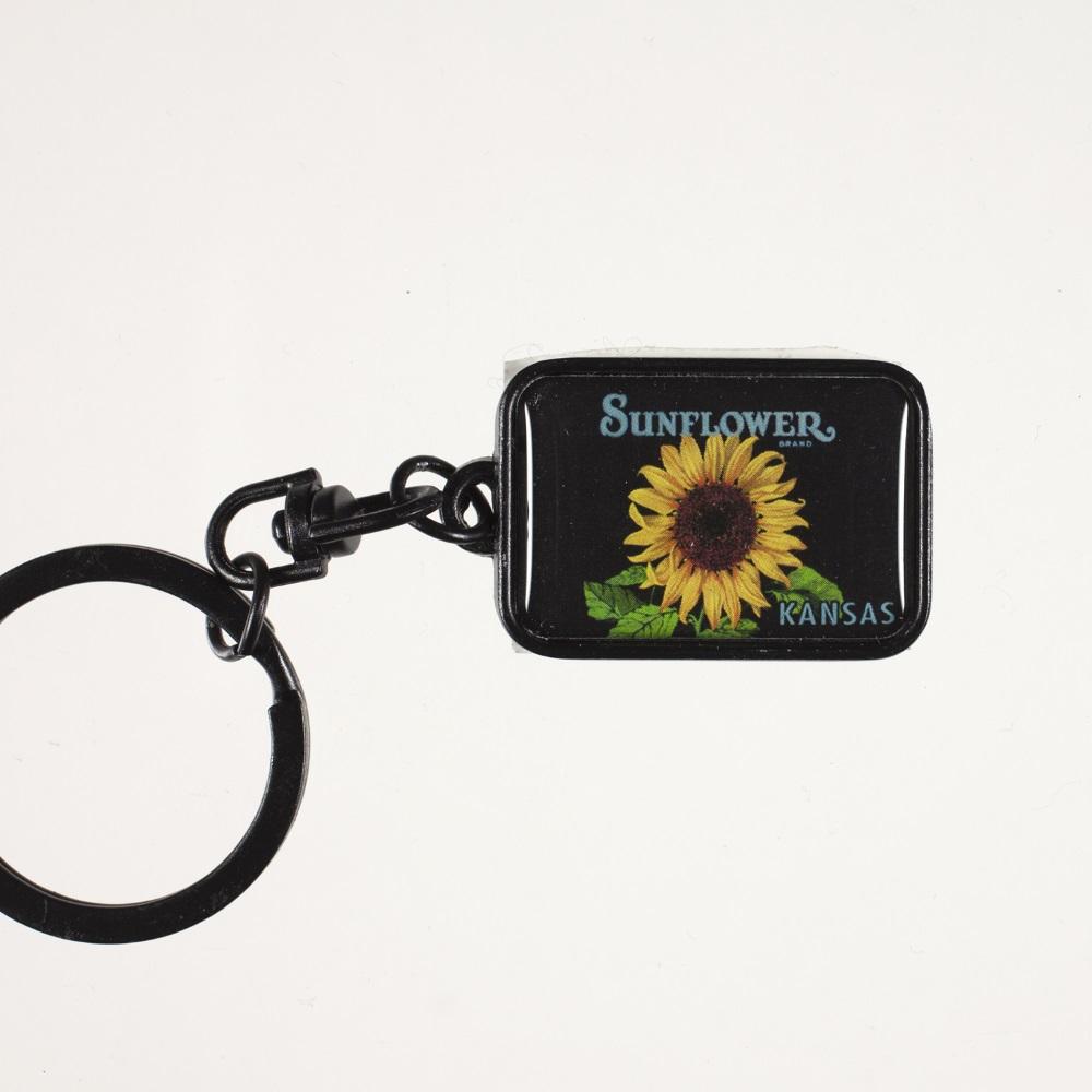 Sunflower Metal Keychain,55264 KEYCHAIN