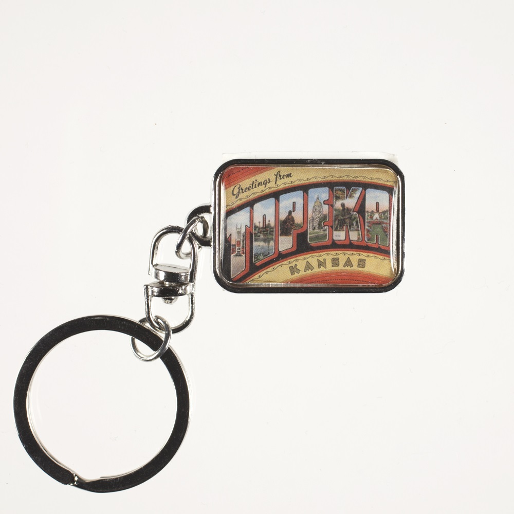 Greetings Metal Keychain,6903 KEYCHAIN