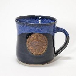 Kansas Sunflower Mug Blue