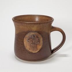 Kansas Wheat Bundle Mug Brown