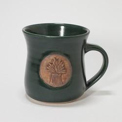 Kansas Wheat Bundle Mug Green
