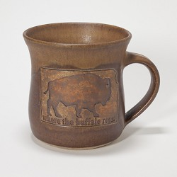 Buffalo Mug Brown