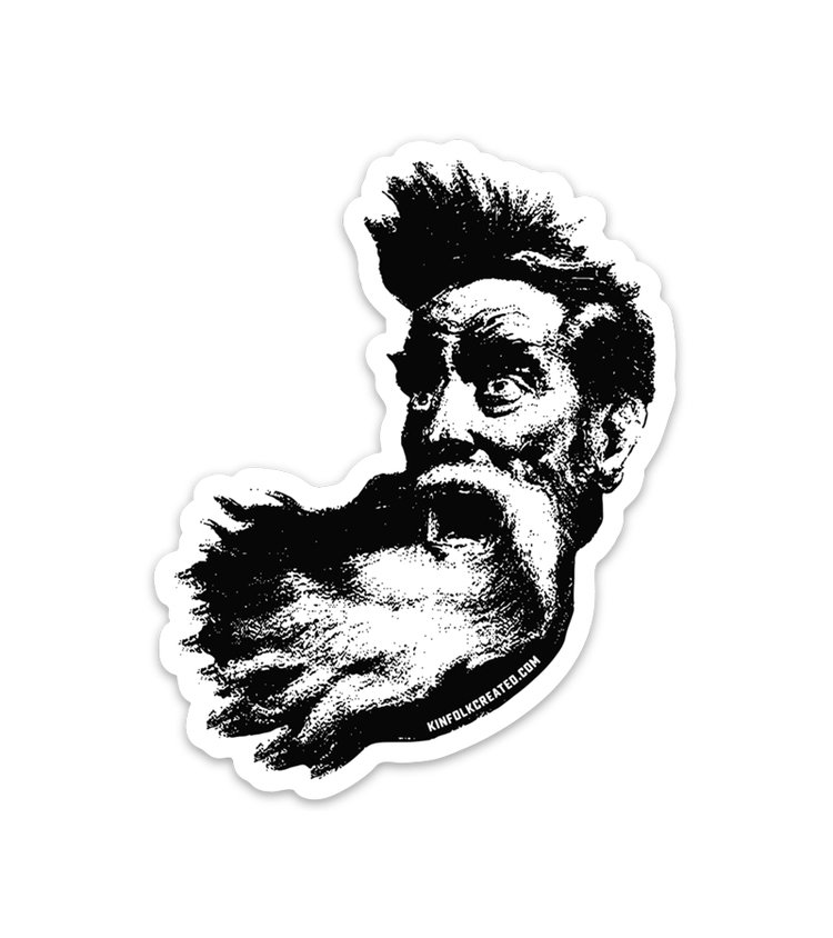 John Brown Sticker