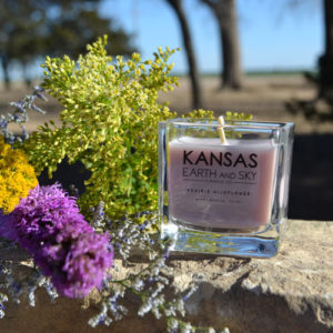 Prairie Wildflower Candle