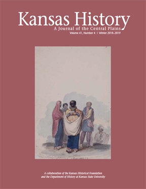 Kansas History - Vol. 41, No. 4,WINTER 2018-2019