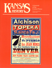 Kansas History - Vol. 26, No. 3,AUTUMN 2003