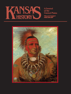 Kansas History - Vol. 29, No. 4,WINTER 2006-2007