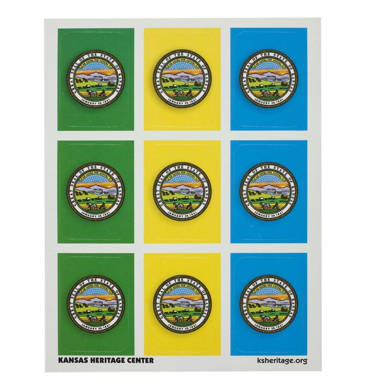 State Seal sticker SINGLE SHEET